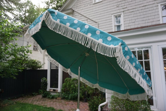 Vintage Patio Umbrella 20