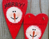 MERRY AND JOY Ornaments (2)