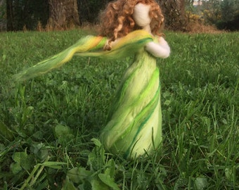 Needle Felted Goddess Demeter Inspired