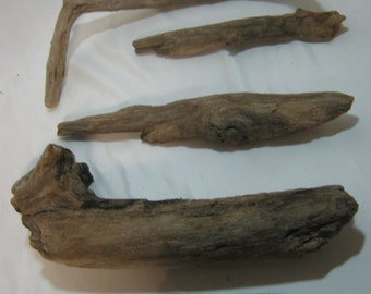 Bulk Driftwood - Driftwood Pieces - Craft Supplies - 5 Various Shaped Pieces
