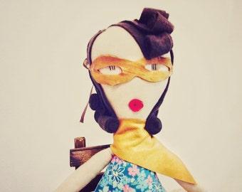 Cloth Rag Doll
