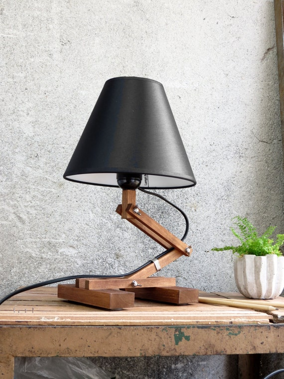 Like this item. Modern Table Lamp Bedside Lamp Industrial Table Lamp Wood