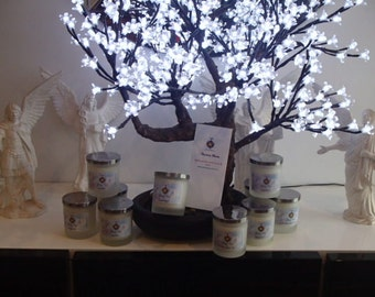 Aurora moon Natural 100 % eco soya,non toxic candles 48-50 hour burn time