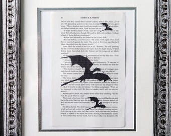 Game of Thrones Book Page Art Print