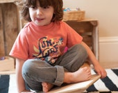 Rocker Board- Modern Toy - Balance Board - Sensory Toy-  Sensory Integration Board-  Gross Motor - Wood Toy - Open Ended Toy - Child's Gift