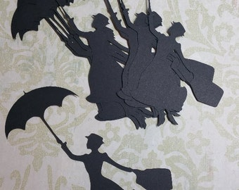 5 Inch,  Mary Poppins. Party Decorations / Embellishments. #KAT-3
