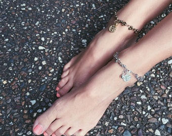 Candis - QTY 1 silver anklet