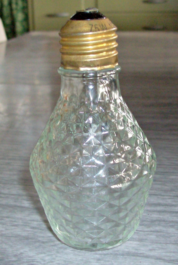 Vintage Sylvania 75w Diamond Cut Light Bulb