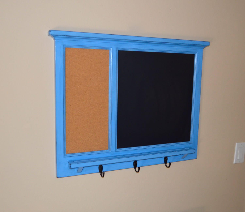 Bulletin board corkboard organizer with letter holder key for Bulletin board organizer