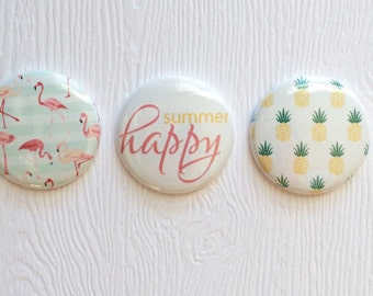 "3 badges 1 ""pineapple"