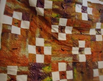 batik lap blanket