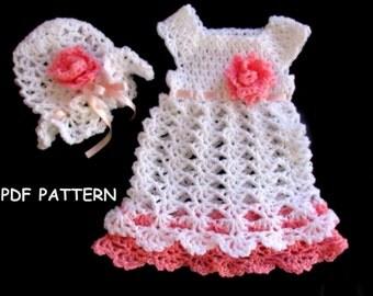 crochet baby dress pattern, crochet pattern baby, crochet dress pattern, crochet baby pattern, crochet baby dress