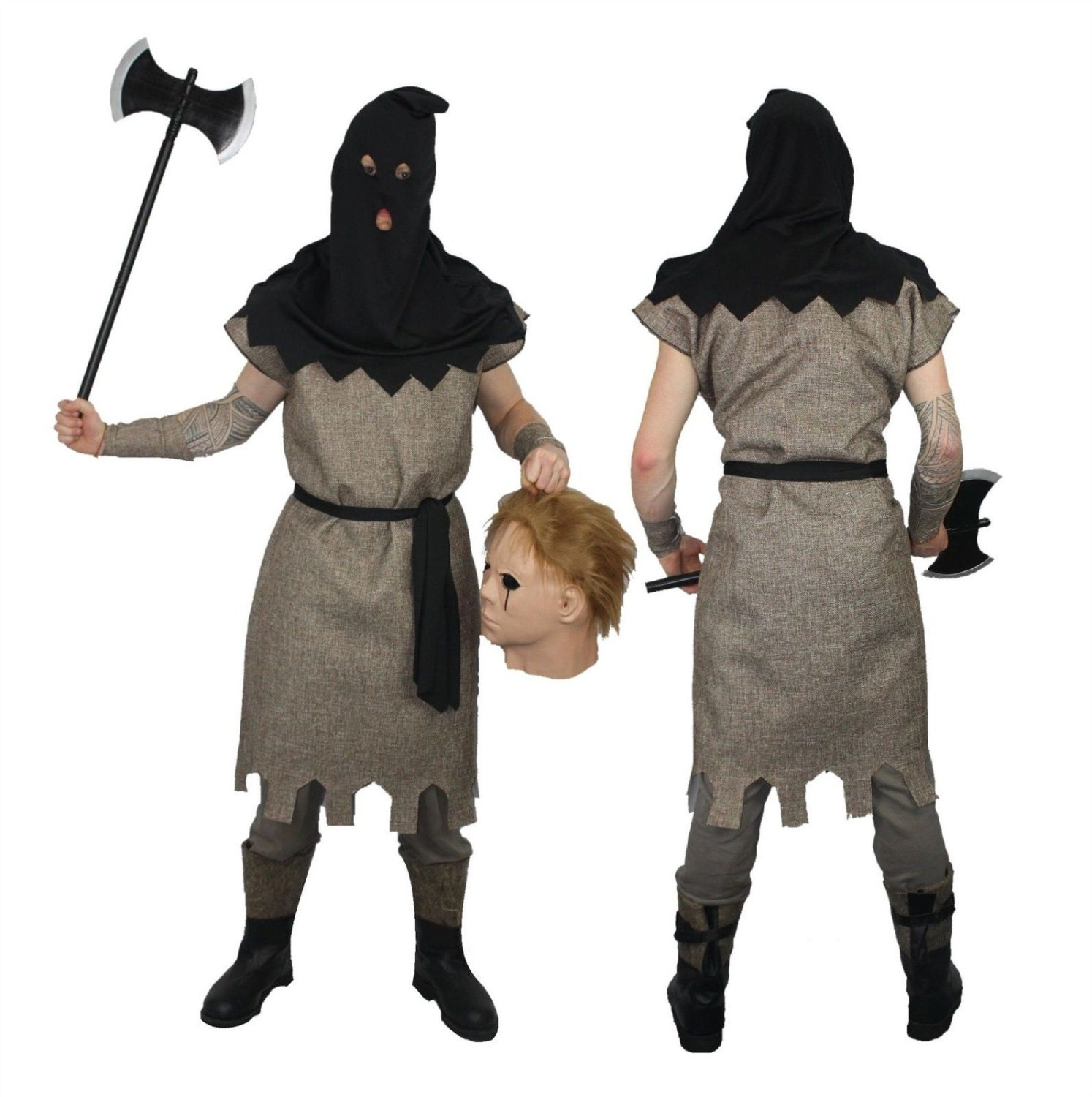 Medieval Executioner Fancy Dress Halloween by ...