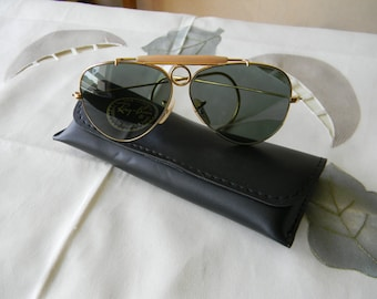 Vintage B&L Ray-Ban Aviator Sunglasses  55 mm