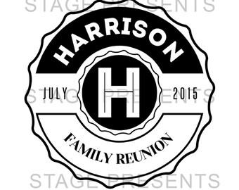Family Reunion Logo - Custom Logo - Personal Use - Family Reunion Custom Graphic Design - Logo Design - Family Name - Family Picnic