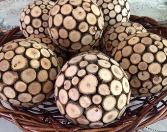 Forest Orb,  Wooden orb
