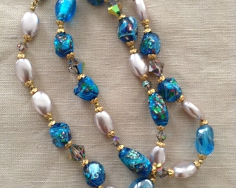 50'Murano glass necklace