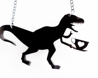 Tea-Rex necklace