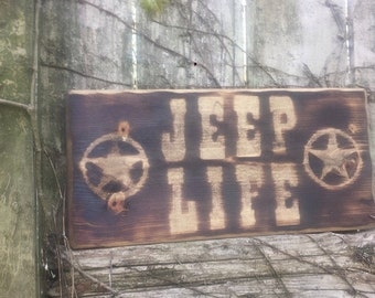 Jeep Sign Etsy