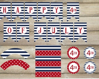 July 4th Printable Collection