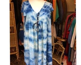 Tie Dye Sky Dress