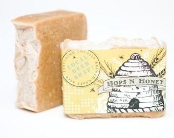 Hops n' Honey beer soap