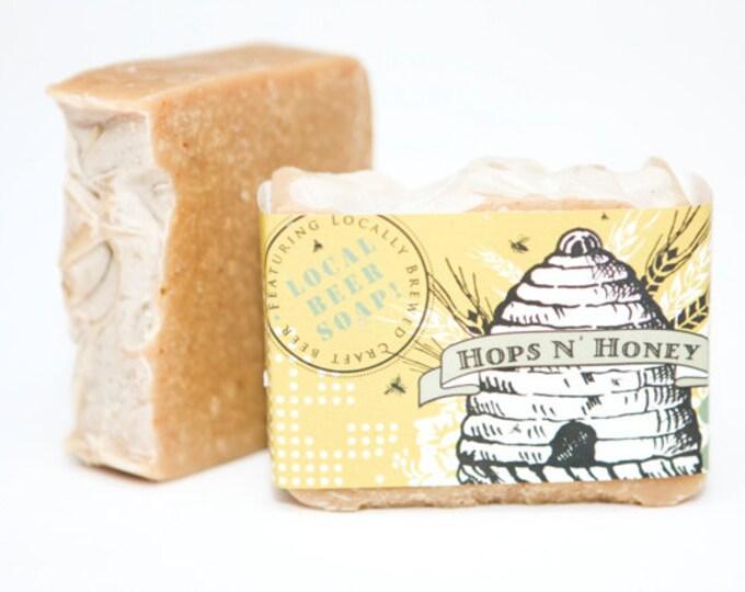 Featured listing image: Hops n' Honey beer soap
