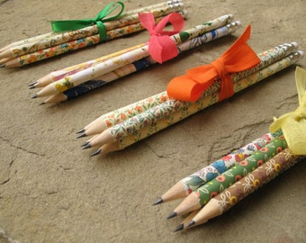 pencils florentine paper pencils with eraser pencils marbled paper