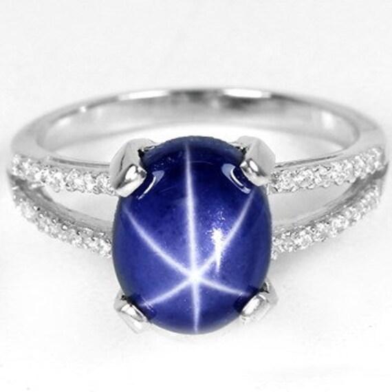 genuine star sapphire ring - photo #18