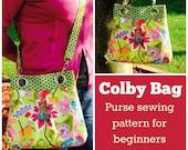 Colby Bag - PDF Sewing  pattern