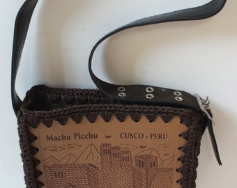 Small handmade purse bag from Mach Pichu Cusco Peru