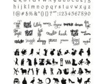 Making Memories - Slice Machine - Design Card - Nursery Rhymes MS+