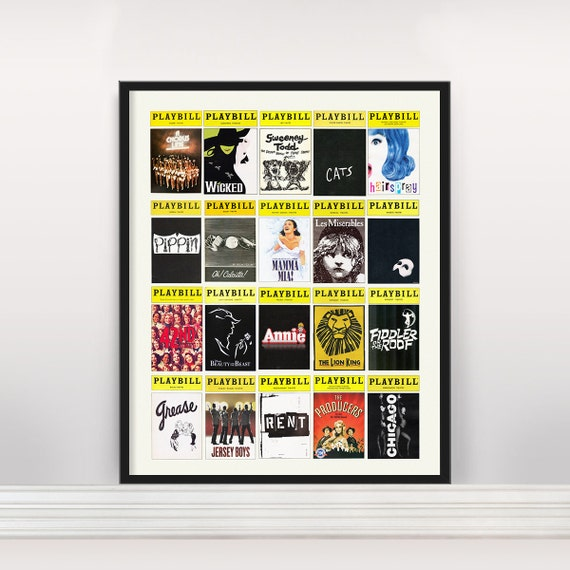 Playbill Poster Frames - All The Best Frames In 2018