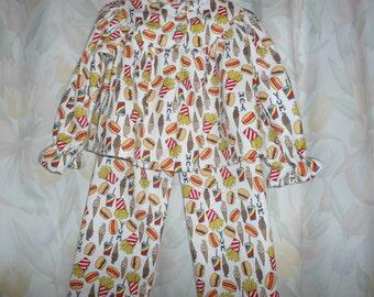 Size 4 Yum Yum Pajamas