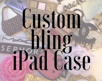 Custom Bling iPad Case