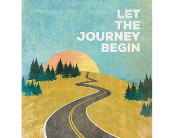 MA1146 - Let the Journey Begin - 12 x 16