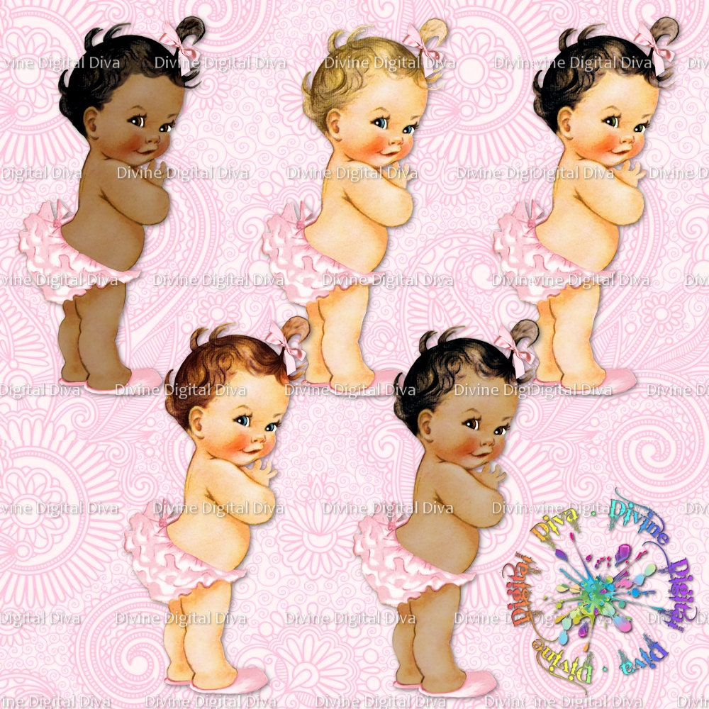 Vintage Baby Clipart 120