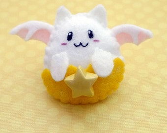 Kawaii Puzzle & Dragons Tamadra Felt Plush Clip
