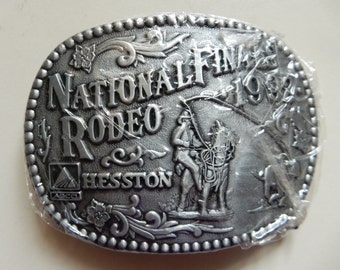 1992 Hesston Belt Buckle