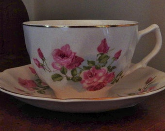 Rose Tea Cup Set