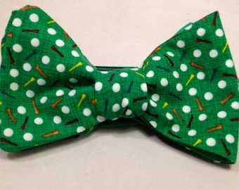 Golf Lovers Freestyle Bow Tie