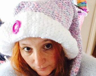 Crochet beanie fairy tails