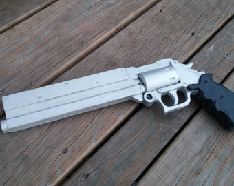 PROTOTYPE Vash the Stampede's .45 Long Colt Wood Revolver Prop
