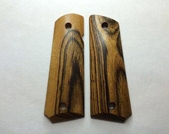 Bocote 1911 Grips