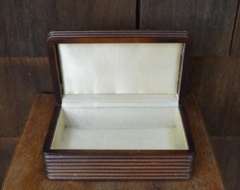 Wood Jewelry Box - Art Deco Like