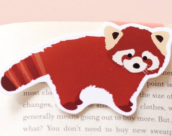 Red Panda Magnetic Bookmark (Jumbo)