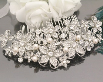 Wedding hair comb bridal hair comb bridal hair accessories bridal hair jewelry bridal headpiece bridal accessories pearl bridal comb wedding