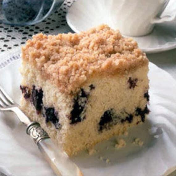Homemade Blueberry Crumble Coffee Cake Handmade Artisan Baker's Dozen ...