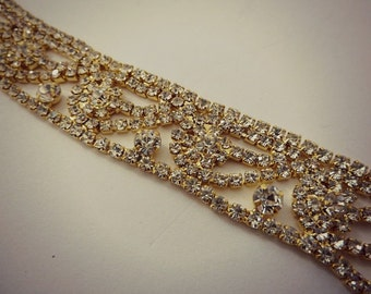 GOLD WEDDING HEADBAND, Bridal Headband