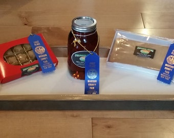 Blue Ribbon Winners 2015 Maple Syrup